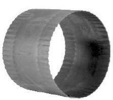 DHS Steekverbinder DW zwart 200mm