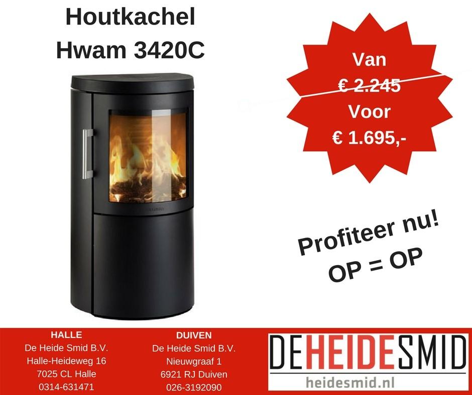 Actie Hwam 3420C op = op