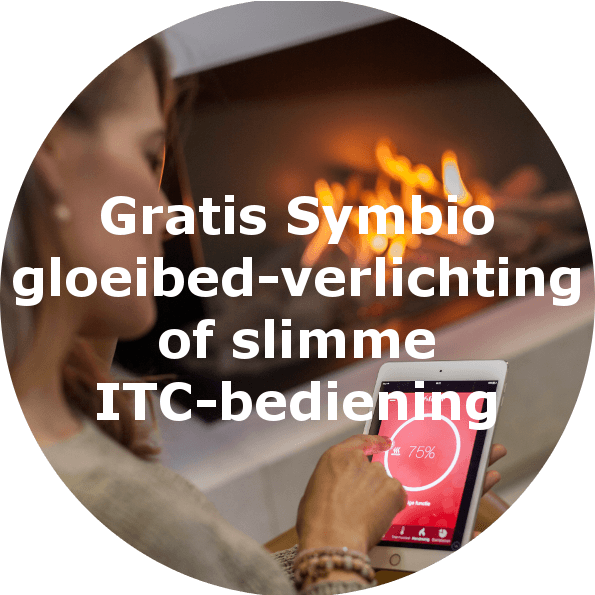 Faber gratis Symbio gloeibed-verlichting of slimme ITC-bediening