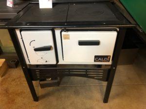 Caldi fornuis met oven en kookplaat showroommodel