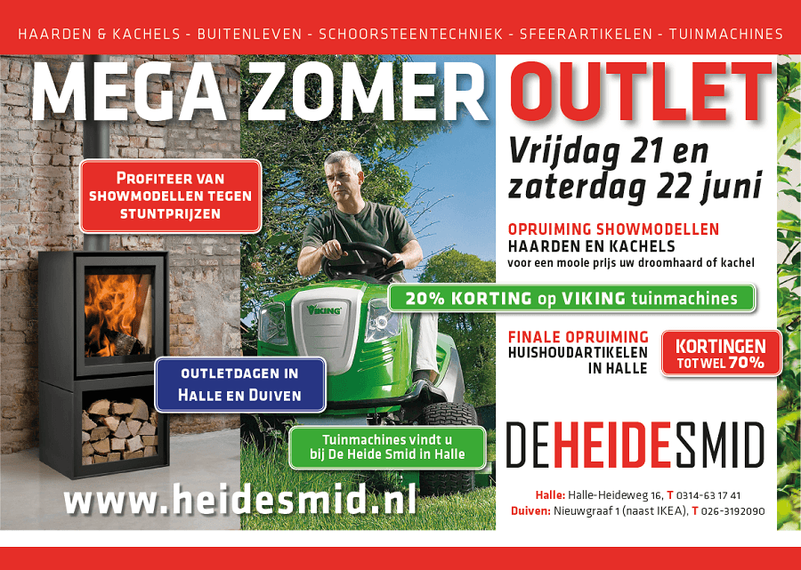 Zomeroutlet De Heide Smid 2019