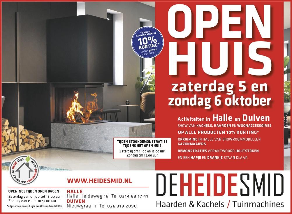Open Huis bij De Heide Smid