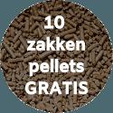 Jubileumactie – 10 zakken pellets gratis