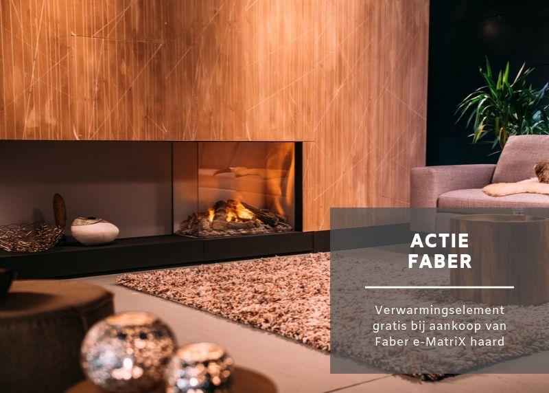 Actie Faber - gratis verwarmingselement