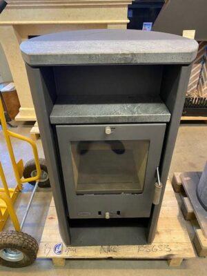 Houtkachel Fireplace halfrond