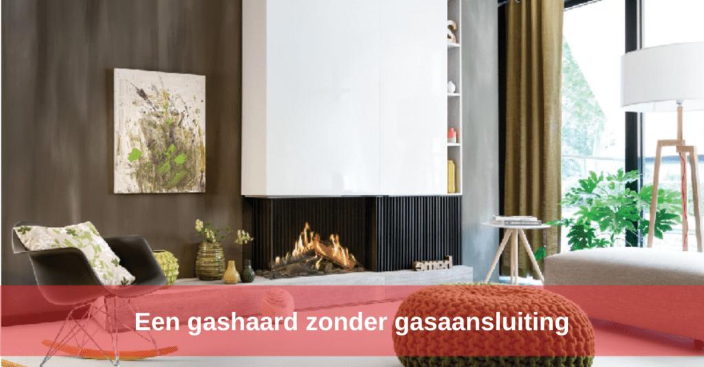 Een gashaard zonder gasaansluiting